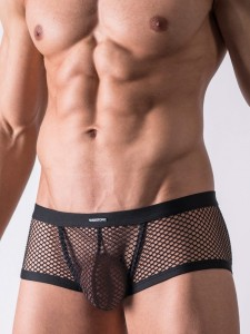 Manstore M452 Hot Pant transparente Unterwäsche