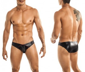 Miami Jock Zipper Brief black
