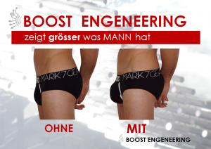 Push-Up Unterwäsche für Männer von Mark7 Gear